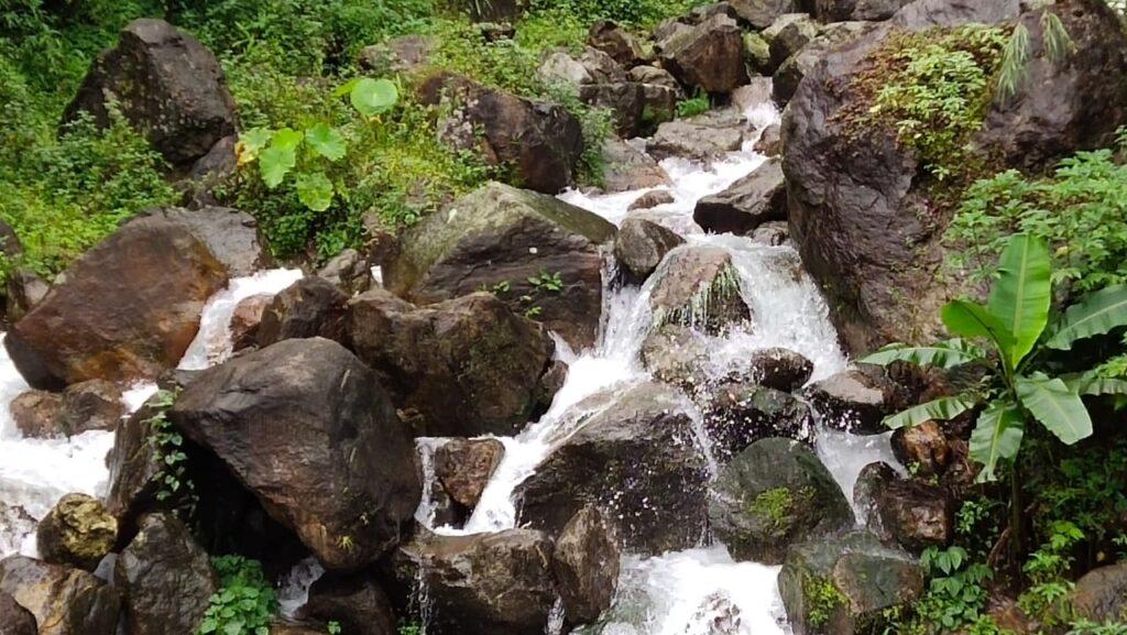 water falls near khambuhang